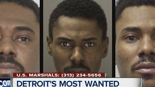 Detroit's Most Wanted: Masai Brown is wanted for stalking and stabbing his ex's new boyfriend - Video