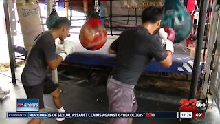 Local professional boxers fighting for opportunities