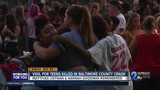 Two teens remembered after deadly beltway car crash - Video