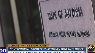 Group behind serial ADA lawsuits takes aim at Arizona Attorney General's Office - Video