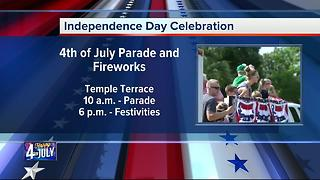 Fourth of July Celebration in Temple Terrace - Video