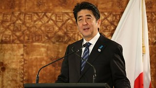 Japanese Prime Minister Reportedly Scraps Trip To Iran - Video