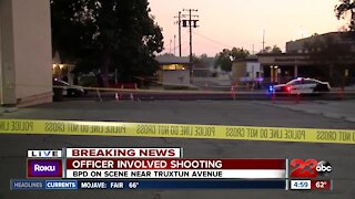 Bakersfield Police involved in a shooting in Downtown Bakersfield