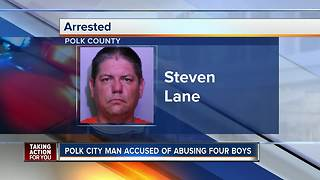 Polk man arrested for allegedly molesting 4 boys - Video