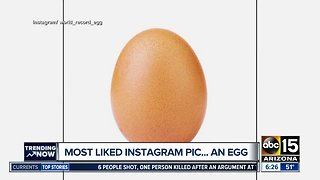 Egg breaks world record for most-liked Instagram picture