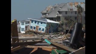 Communities picking up after Hurricane Michael - Video