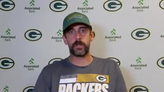 'There's a systemic problem': Aaron Rodgers shares message about police after Jacob Blake shooting