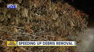 Hillsborough County officials plan to discuss ways to 'expedite storm debris removal' - Video