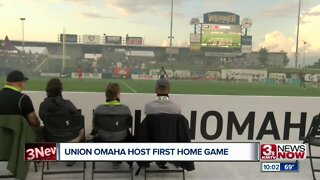 Fans enjoy first win for Union Omaha