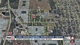 Suspicious death under investigation in North Fort Myers