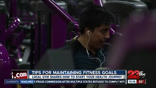 Tips to keeping the gym New Year's resolution