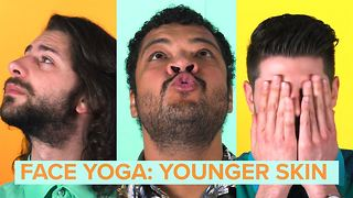 Face Yoga: stop and try these anti-aging excersizes - Video