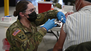 AZ National Guard Soldiers administer COVID-19 vaccines in Gila County