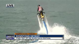 Extreme water sports at GM River Days - Video