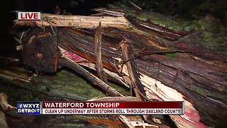 Thousands without power in Oakland County after severe overnight weather