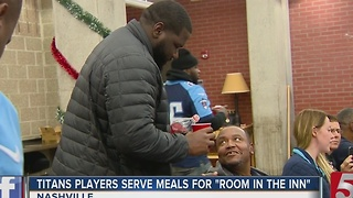 Titans Help Out At Room In The Inn - Video