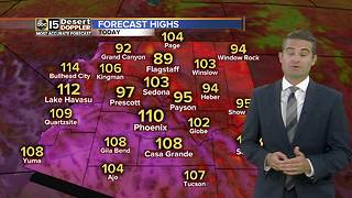 Phoenix to reach 110 degrees - Video