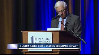 Kustra talks Boise State's economic impact - Video