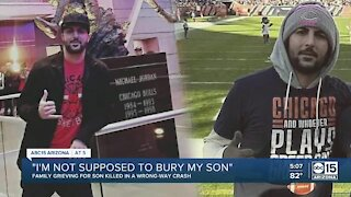 Valley family hopes for changes after wrong-way crash in Phoenix