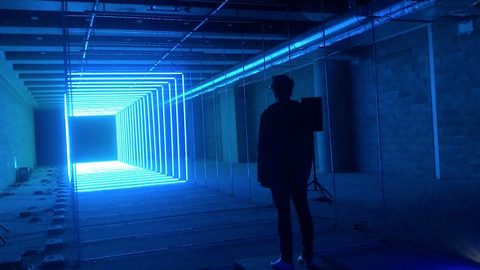On your wavelength – Light and music show is created dependent on your mood