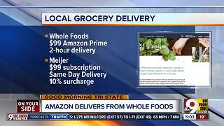 Amazon Prime offering free 2-hour delivery of Whole Foods products in Cincinnati - Video