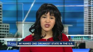 Wisconsin named second drunkest state in U.S. - Video