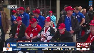Oklahoma Warrior Honor Flight Tulsa Airport Departure
