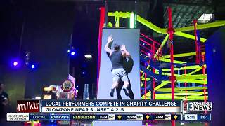 Local media, performers compete at GlowZone