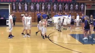 Down Syndrome Student Opens HS Basketball Game With Team's First Points - Video