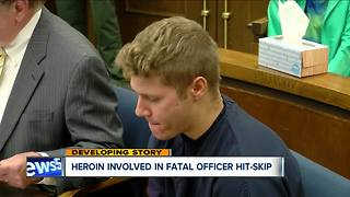Heroin involved in fatal officer hit-and-run - Video