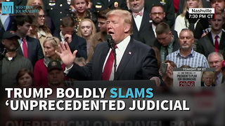 Trump Boldly Slams 'Unprecedented Judicial Overreach' On Travel Ban