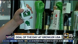 A great deal for Father's Day at Growler USA - Video