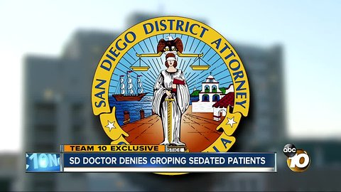 San Diego doctor denies groping sedated patients