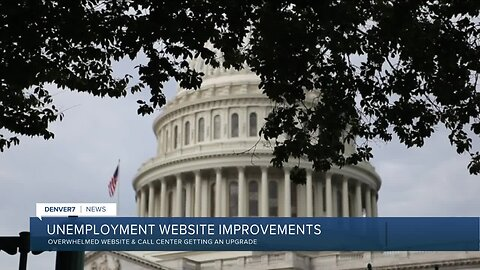 Colorado's unemployment website improvements