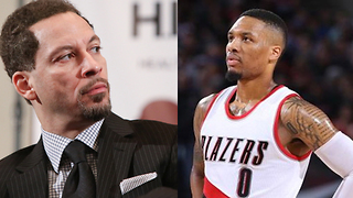 Damian Lillard CALLS OUT Chris Broussard on Live Radio Over Paul George Comment - Video