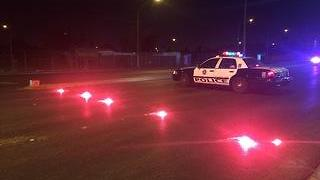SUV hit, kills pedestrian near Tropicana and Maryland Parkway - Video