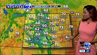 A mild Sunday across Colorado