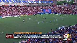 City Council to vote on FC Cincinnati stadium plan