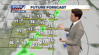 Warm and windy Friday - Video