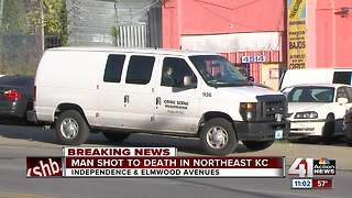 KC police investigate deadly shooting at Independence Ave. and Elmwood