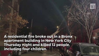 Cause of New York City Fire that Killed 12, Including 4 Children, Revealed - Video