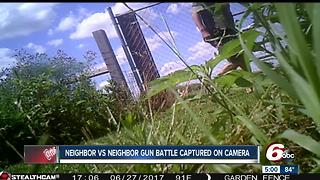 Video shows shootout between firefighter, neighbor in Johnson County; firefighter won't face charges - Video