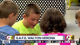 Walton-Verona schools bringing healthy living education to elementary students - Video