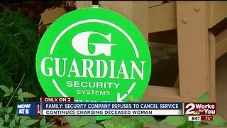 Security company refuses to cancel service - Video