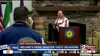 Ireland's Prime Minister Visits Oklahoma - Video