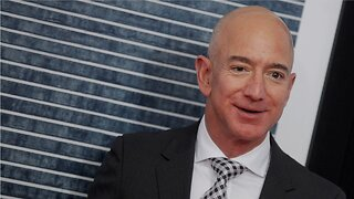 Jeff Bezos did not appear on stage during shareholder meeting