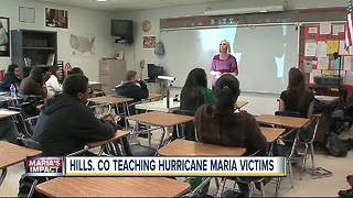Hillsborough County Schools taking in students displaced by Hurricane Maria - Video