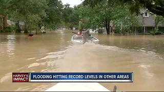 Flooding hitting record levels in other areas - Video