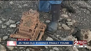 25-year-old evidence uncovered