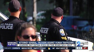 Attorney General, truckers against human trafficking